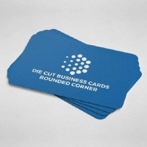 Round Cut Business Cards